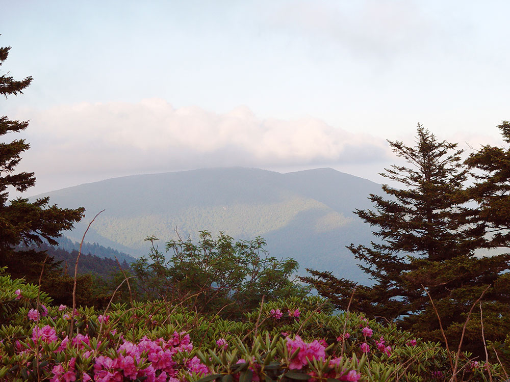 who named the blue ridge mountains - photo#19